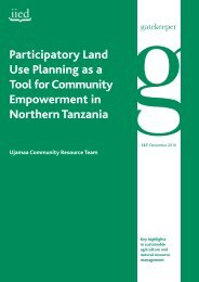 Participatory Land Use Planning as a Tool for ... - Land Portal