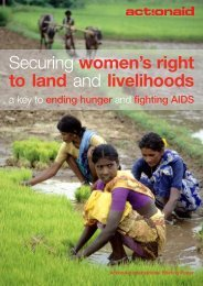 Securing women's right to land and livelihoods a key to ... - Land Portal