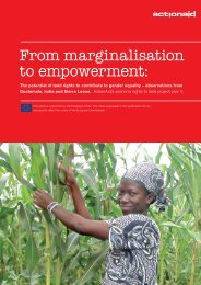 From marginalisation to empowerment: - Land Portal