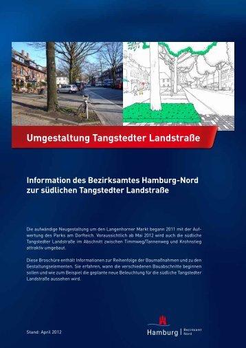 Umgestaltung Tangstedter Landstraße - Langenhorn Markt - Hamburg