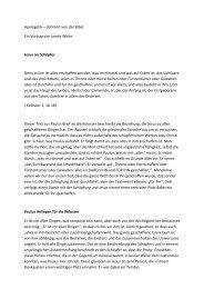 Apologetik – definiert von der Bibel Ein Vortrag von James White ...