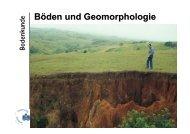 Böden und Geomorphologie