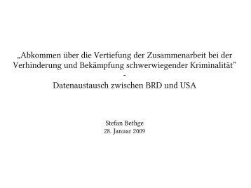 """""""Abkommen über die Vertiefung der Zusammenarbeit bei der ..."""