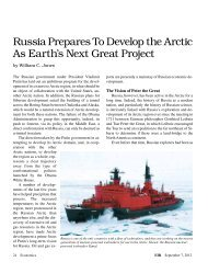 Russia Prepares To Develop the Arctic As Earth's Next Great Project