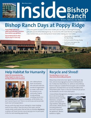 Bishop Ranch Days at Poppy Ridge