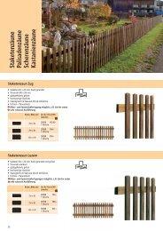 Zäune in Holz, Metall und Kunststoff / Zubehör ... - Larus.ch