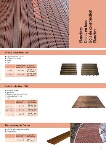 Planchers Dalles en bois Bois de construction Planches - Larus.ch