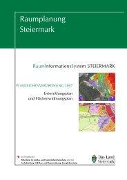 Planzeichenverordnung 2007 - Raumplanung Steiermark