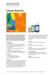 Lascaux Gouache - Lascaux Colours & Restauro