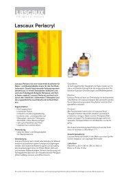 Lascaux Perlacryl - Lascaux Colours & Restauro