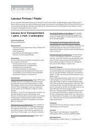 Lascaux Firnisse / Fixativ - Lascaux Colours & Restauro