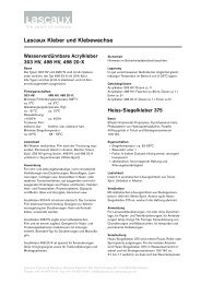 Lascaux Kleber und Klebewachse - Lascaux Colours & Restauro