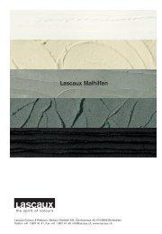 Lascaux Malhilfen - Lascaux Colours & Restauro