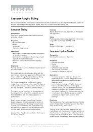 Lascaux Acrylic Sizing - Lascaux Colours & Restauro