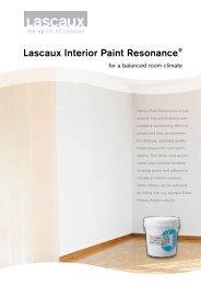 Lascaux Interior Paint Resonance® - Lascaux Colours & Restauro