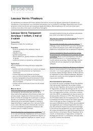 Lascaux Vernis / Fixateurs - Lascaux Colours & Restauro