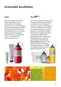 Produkteübersicht - Lascaux Colours & Restauro - Seite 2