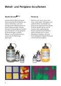Produkteübersicht - Lascaux Colours & Restauro - Seite 3