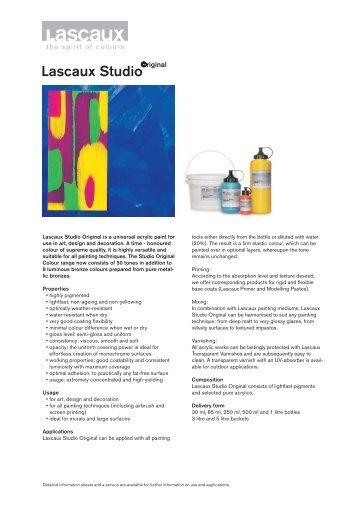 Lascaux Studio - Lascaux Colours & Restauro