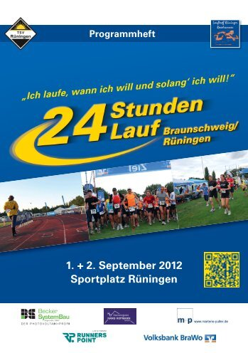 Broschüre 2012 - Lauftreff Rüninger Roadrunner