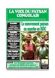 Le mouvement paysan en marche en RDC - La voix du paysan ...