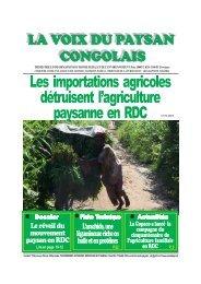 La voix du paysan congolais n°10