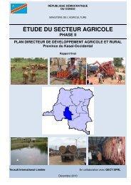 Kasaï-Occidental - La voix du paysan congolais