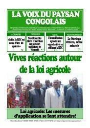 La voix du Paysan congolais - vrier 2012 - RDC