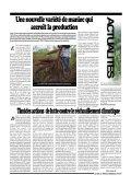 Les paysans révendiquent leur participation - La voix du paysan ... - Page 7