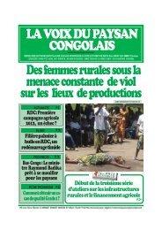actualites - La voix du paysan congolais