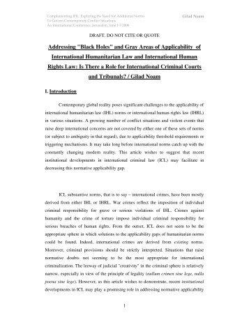 UN Documentation: International Law
