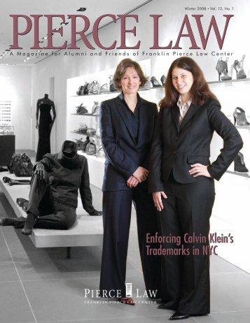 Winter 2008 Vol.12, No.1 - UNH School of Law - University of New ...