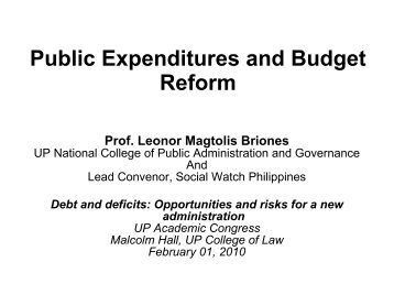 Reticent or robust reform university of limerick public expenditures and budget reform university of the malvernweather Image collections