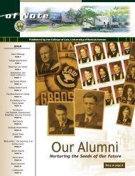 Our Alumni - College of Law - University of Saskatchewan