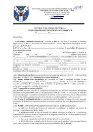 Anexa I.3 - Facultatea de Drept - Universitatea Alexandru Ioan Cuza