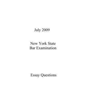 ny bar essay predictions