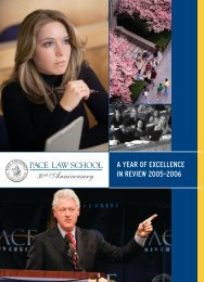 ayout 1 - Pace Law School - Pace University