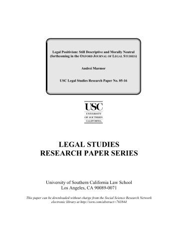 Law school research paper