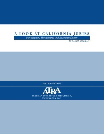 A Look At California Juries - USC Gould School of Law - University ...