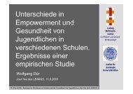 Jour fixe juni 03 - Ludwig Boltzmann Institut für Medizin- und ...
