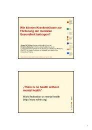 mentale Gesundheit - Ludwig Boltzmann Institut für Medizin- und ...