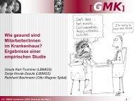GMK - Ludwig Boltzmann Institut für Medizin- und ...