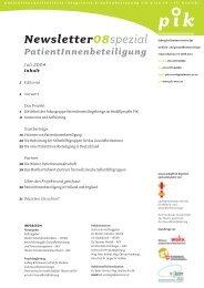 pik - Ludwig Boltzmann Institut für Medizin- und ...