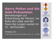 Harry Potter und die Aids-Prävention. - Ludwig Boltzmann Institut für ...