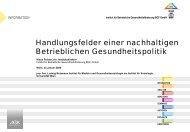 INFORMATION - Ludwig Boltzmann Institut für Medizin- und ...