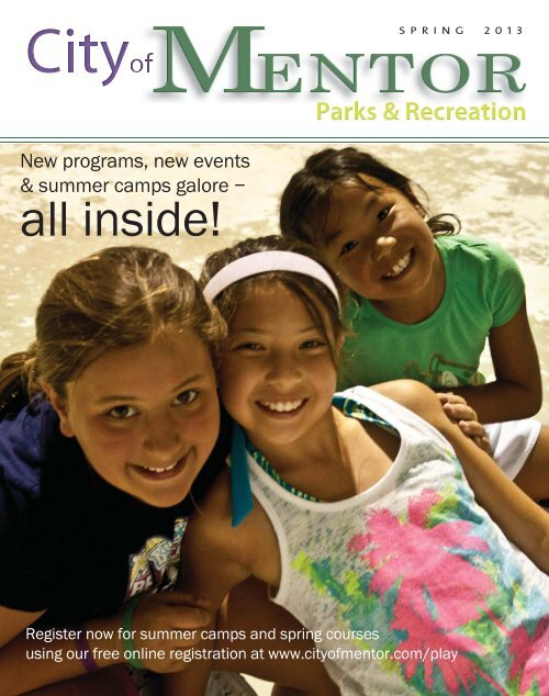 Parks & Recreation Guide - City of Mentor