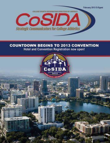 February 2013 E-Digest - CoSIDA