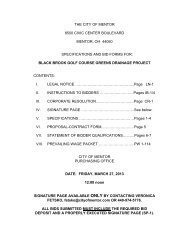 black brook golf course green - City of Mentor