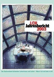 Jahresbericht 2003 - beim LCH