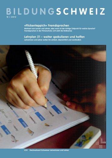 Heft 12 2012 - beim LCH